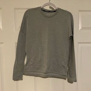 Gray Nike long sleeve
